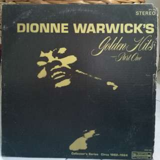 DIONNE WARWICK GOLDEN HEATS PART 1 VG