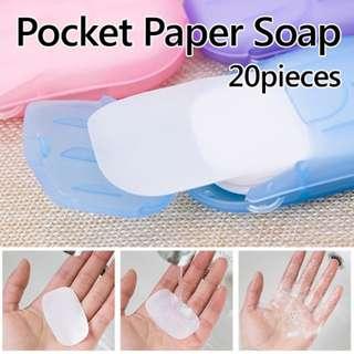 ★Pocket Paper Soap★