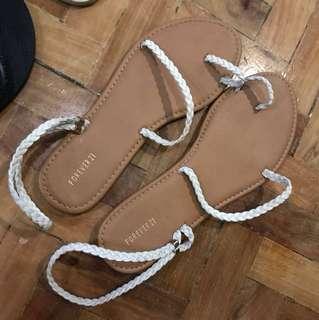 """REPRICED!! """"Forever 21"""" Rope slipper/ sandal"""