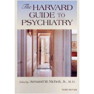 The Harvard Guide to Psychiatry: Third Edition