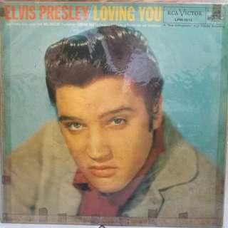 ELVIS PRESLEY LOVING YOU VG