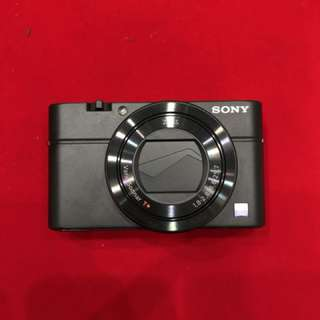 SONY RX100 iii BRAND NEW UNSEALED BOX