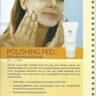 Peeling (polishing peel)