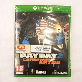 Xbox One payday 2 crimewave edition.