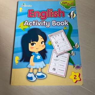 English Activity Book Age 5-7
