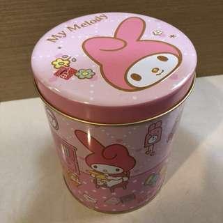 Melody 收納鐵罐