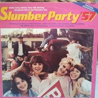 ORIGINAL SOUNDTRACK OST SLUMBER PARTY '57 VG