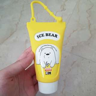 BN Authentic We Bare Bear Ice Bear Honey Nourishing Hand Cream