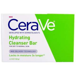 CeraVe, Hydrating Cleanser Bar, 4.5 oz (128 g)