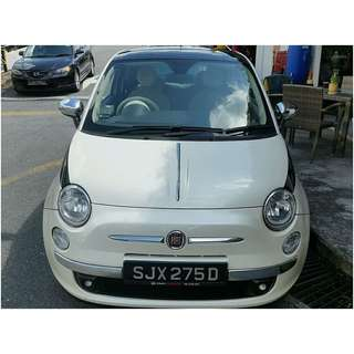 FIAT 500 LOUNGE 1.4 SMT 16V SUNROOF