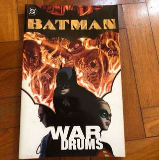 BATMAN WAR DRUMS