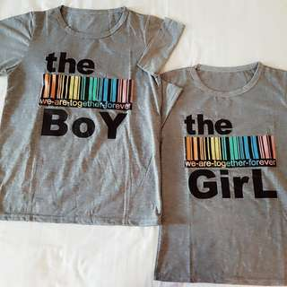 Couple Boy And Girl Blouse