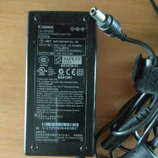 Power Adapter(Canon CA-CP200) 24v 2.2A