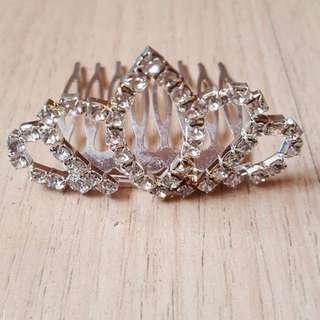 Hiasan rambut / headpiece pesta tiara