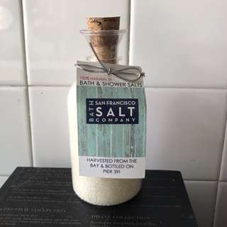 Sea salt shower