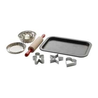 [IKEA] DUKTIG 7-piece Toy Baking Set