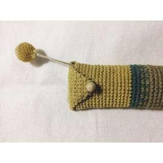 [織喳] 手工編織 筆袋 鉛筆盒