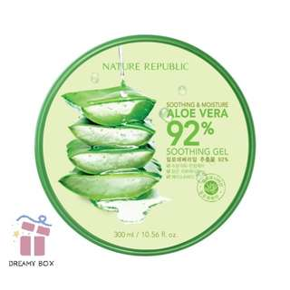 Nature Republic 92% Aloe Vera Soothing Gel Expiry Mar 2020