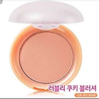 BN Etude House Lovely Cookie Blusher Peach Parfait