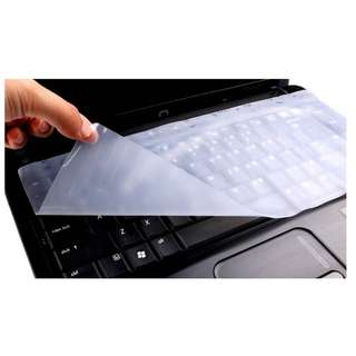 """Laptop Keyboard Silicon Protector/Cover [Size: 13"""",14'',15'',17""""]"""