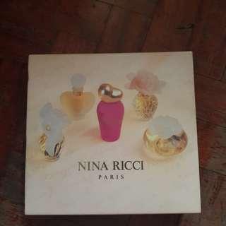 Nina Ricci miniature perfume collection