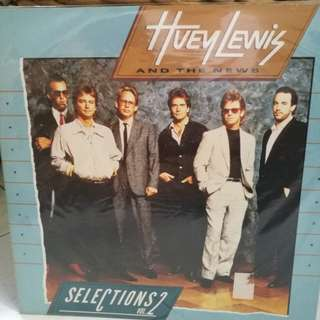 HUEY LEWIS AND THE NEWS SELECTION VOL2 NM