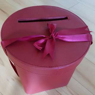Faux Leather Angbao Box