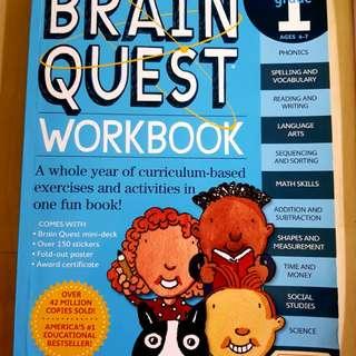 Brain Quest Workbook 5-7 years old
