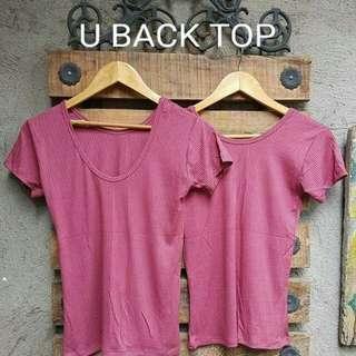 u-back top