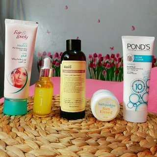 Goodbye Acne & Pimple Marks Bundle!!