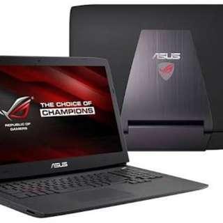 Asus Gaming Laptop ROG G751jy