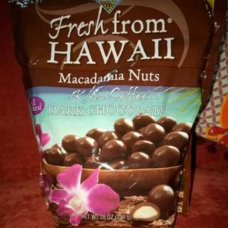 IMPORTED DARK CHOCOLATE WITH MACADAMIA NUTS