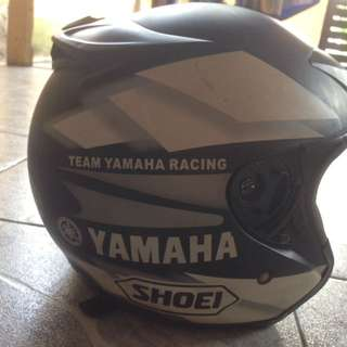 Helmet shoei yamaha 50th anniversary