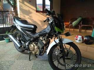 Satria Fu 150cc tahun 2012 (pajak hidup & surat surat lengkap) lokasi cikupa Tangerang