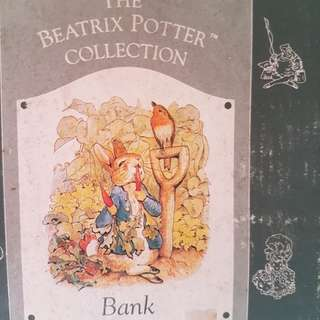 Beatrix Potter Collection Coin Bank