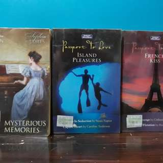 Paperbacks Php10 (Left) Php 30 (Middle and Right), each
