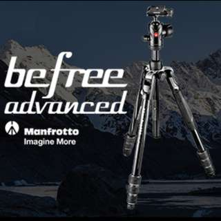 Manfrotto MKBFRTA4BK Befree Advanced Aluminum Tripod