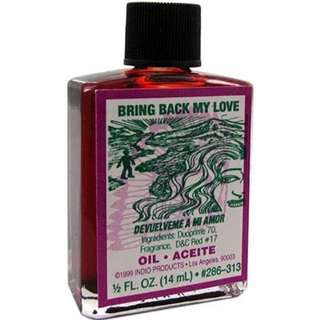Indio bring back my lover magic oil