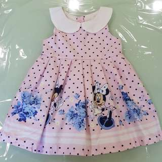 [New] baby Girl Minnie Mouse Dress