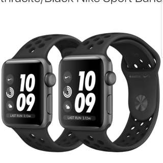 收nike特價apple watch s3 42mm(not selling)