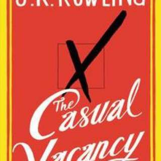 [New] The Casual Vacancy book by JK Rowling