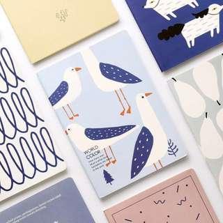 Cute designed custom notebooks