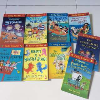 Early Reader series (set of 9, in great condition)
