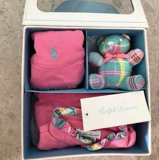 Ralph Lauren Three Piece Gift Set (9 Months)