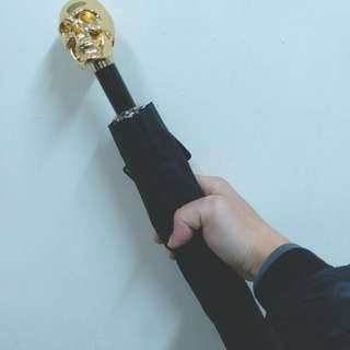 Pasotti Pasotti 金骷髏短傘,
