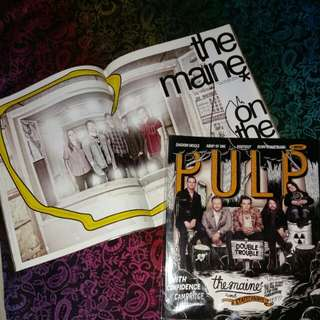PULP magazine the maine / Taylor Momsen / The Pretty Reckless