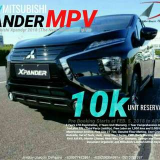 Mitsubishi XPANDER Reserve NOW! 40 Units Only will be available DIAL NOW! 09277472861 or 09206354961