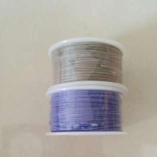 Wax bracelet rope