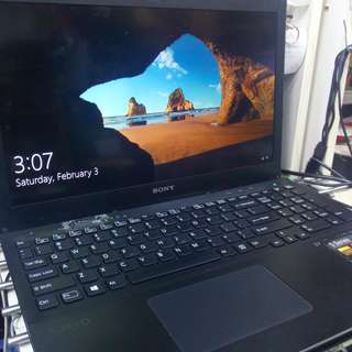 "Sony VAIO 15.5"" Core i7 S Series Laptop"