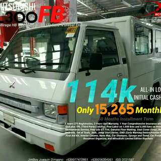Mitsubishi L300 FB LOW DOWN Promo SURE Approval NO Minimum Requirements DIAL NOW! 09277472861 or 09206354961